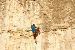 Climbing. Stock Photos