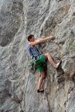 Climbing. Royalty Free Stock Image