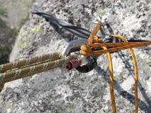 climbinutrustning Fotografering för Bildbyråer