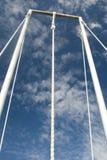 Climbling Seil Lizenzfreie Stockbilder
