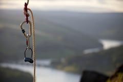 Climbning Seil Lizenzfreie Stockfotografie