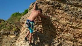 Climbver stock footage
