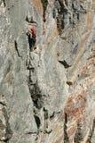 Climnobg op het zuidengezicht van piekzlia zub Stock Afbeeldingen