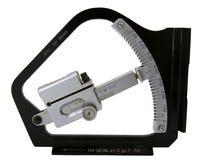 Clinómetro del artillero aislado Fotos de archivo
