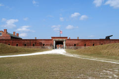 Clinch οχυρών κρατικό πάρκο στοκ εικόνα με δικαίωμα ελεύθερης χρήσης