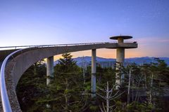 Clingman's Dome Stock Image