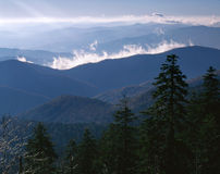 Clingman's Dome Sunrise Stock Photos