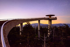 Clingmans Dome Royalty Free Stock Images