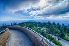 Clingmans Dome - Great Smoky Mountains  National Park Stock Photos