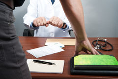 Clinic, doctor, Royalty Free Stock Photography