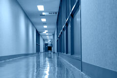 Clinic hallway Royalty Free Stock Images