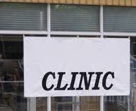 Clinic and Medical Health Care Facility. Clinic and Medical Health Care Facilities provide emergency, urgent and minor medical care to people in need stock photos