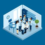 Clinic Personnel Concept Royalty Free Stock Images
