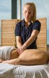 Clinica di massaggio Immagine Stock