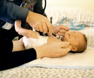 Clinica pediatrica Fotografia Stock Libera da Diritti