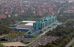 Clinical hospital Dubrava in Zagreb Stock Photos