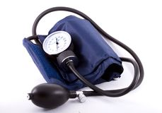 Clinical  Sphygmomanometer Royalty Free Stock Image
