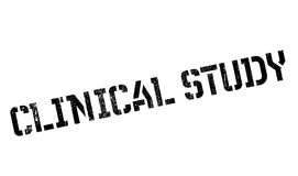 Clinical Study rubber stamp Royalty Free Stock Photos