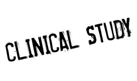 Clinical Study rubber stamp Royalty Free Stock Images