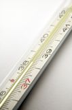 Clinical thermometer detail Stock Images