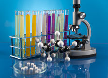 Clinical trials in the laboratory Stock Photos