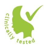 Clinically tested  icon Stock Photos