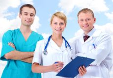 Clinicians Stock Photography