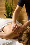 Clinique de massage Photos libres de droits