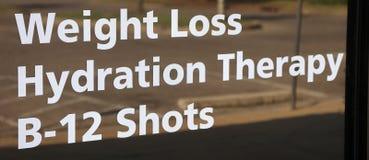 Clinique de perte de poids Photographie stock libre de droits
