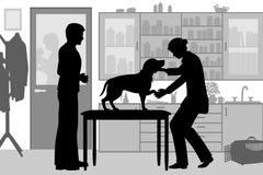 Clinique vétérinaire Photo stock