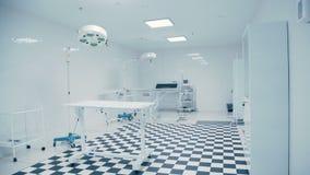 Clinique vétérinaire moderne Plancher noir et blanc carrelé banque de vidéos