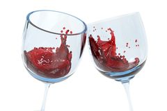 Clink glasses royalty free stock photography