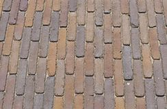 Clinker as a pavement or space Stock Photo
