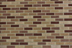 Clinker Brick Masonry Stock Image