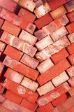 Clinker bricks Royalty Free Stock Photos