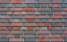 Clinker bricks background, wallpaper, texture Stock Photos
