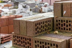 Clinker bricks Stock Image