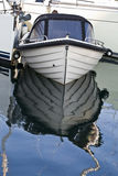 Clinker-built boat Stock Images