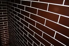 Clinker tiles Stock Photography