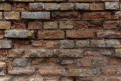 Clinker wall Royalty Free Stock Image