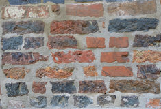 Clinker wall background Royalty Free Stock Photo