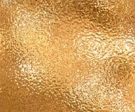 Clinquant d'or Photographie stock libre de droits