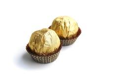 clinquant de sucrerie d'or Photo libre de droits