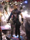 Clint Barton Hawkeye em Toy Soul 2015 Imagem de Stock Royalty Free