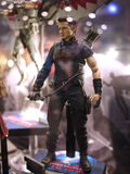 Clint Barton Hawkeye in Toy Soul 2015 Royalty Free Stock Image