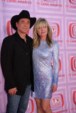 Clint Black,Lisa Hartman Stock Photography