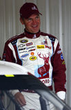Clint Bowyer dans la zone de garage Photographie stock