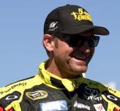 Clint Bowyer NASCAR Sprint ahueca el conductor imágenes de archivo libres de regalías