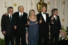 Clint Eastwood, Dustin Hoffman, Barbra Streisand 免版税库存照片