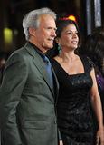 Clint Eastwood, Dina Eastwood Royalty Free Stock Photo